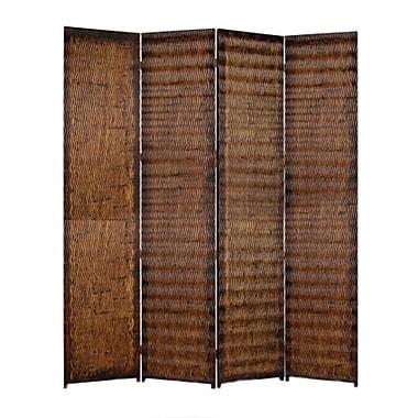 Screen Gems Albata 84'' x 84'' 4 Panel Room Divider