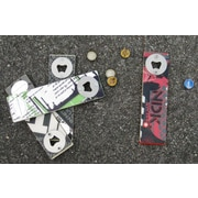 Ski Chair Snow Recycled Board Bottle Opener