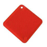 SO COOL Pot Holder Trivet; Red