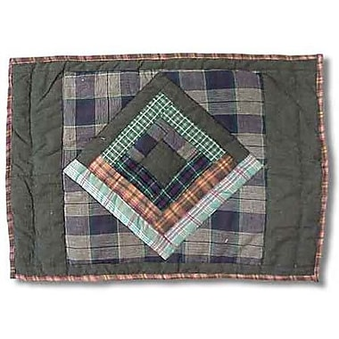 Patch Magic Green Log Cabin Placemat (Set of 4)