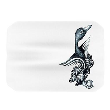 KESS InHouse Swan Horns Placemat