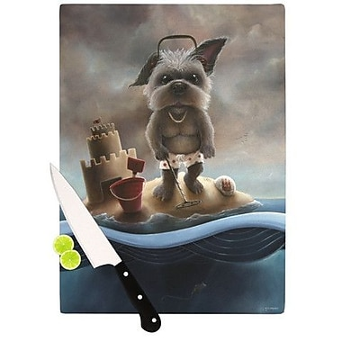 KESS InHouse Grover Cutting Board; 11.5'' H x 8.25'' W x 0.25'' D