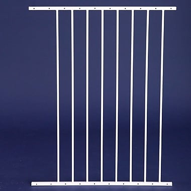 Carlson Pet Gate Extension for 1210PW Maxi Pet Gate; 38'' H x 24'' W