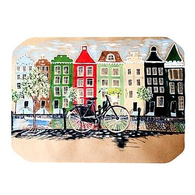 KESS InHouse Bicycle Placemat