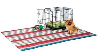 Prevue Hendryx Home On-The-Go Pet Crate; X-Small (20'' H x 16.5'' W x 24'' L)