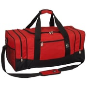 Everest 25'' Sporty Travel Duffel; Red / Black