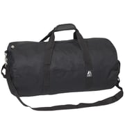Everest 23'' Basic Round Travel Duffel; Black