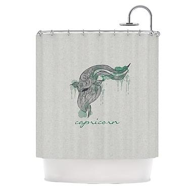 KESS InHouse Capricorn Shower Curtain