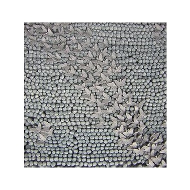 Candice Olson Butterfly Silvered Gray Area Rug; 5' x 8'