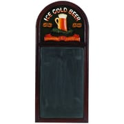 RAM Game Room Hand-Carved 'Ice Cold Beer' Sign