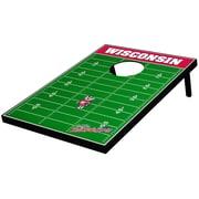 Tailgate Toss NCAA Football Cornhole Game; Wisconsin