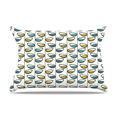 KESS InHouse Spring Stem Pillowcase; Standard
