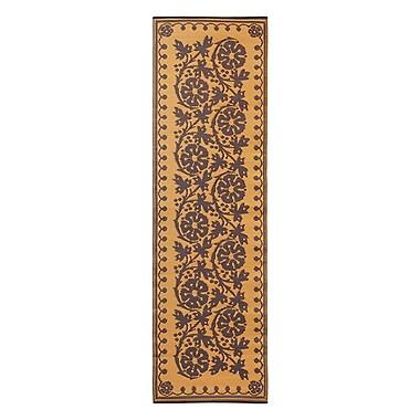 ACHLA Cinquefoil Doormat; Cinnamon