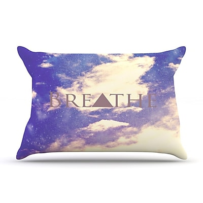 KESS InHouse Breathe Pillowcase; King WYF078275776424