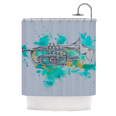 KESS InHouse Hunting for Jazz Shower Curtain