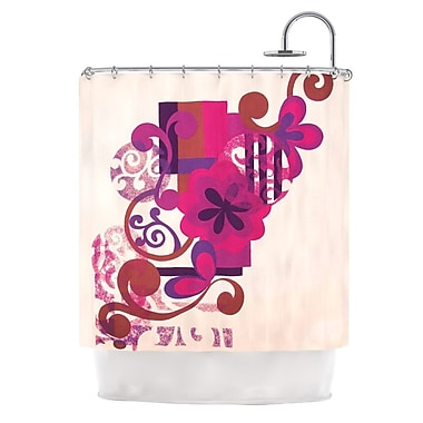 KESS InHouse Shower Curtain