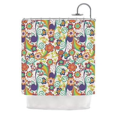 KESS InHouse Printemps Shower Curtain