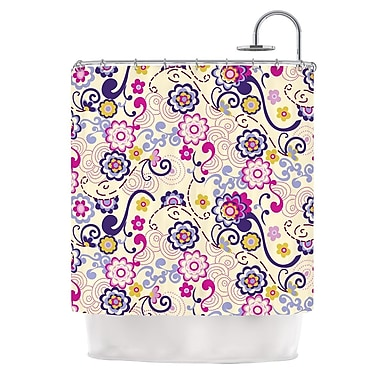 KESS InHouse Arabesque Shower Curtain