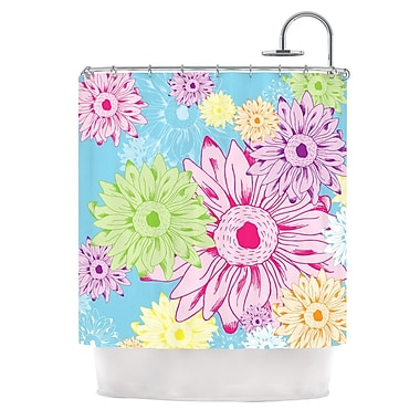 KESS InHouse Summer Time Shower Curtain
