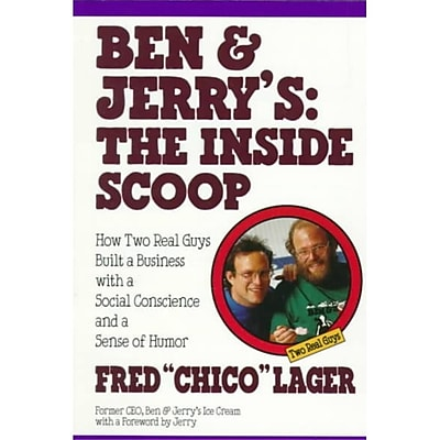 Ben & Jerry's: The Inside Scoop Fred Lager Paperback
