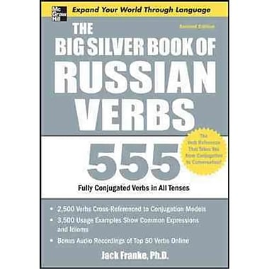 The Big Silver Book of Russian Verbs Jack Franke Paperback
