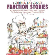Funny & Fabulous Fraction Stories Dan Greenberg  Paperback