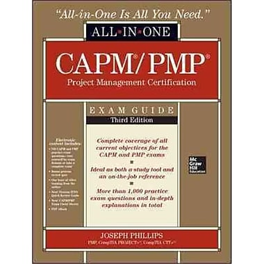 CAPM/PMP Project Management Certification All-in-One Exam Guide Joseph Phillips Hardcover