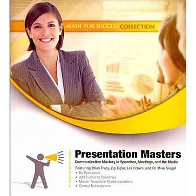 Presentation Masters Brian Tracy Audiobook CD