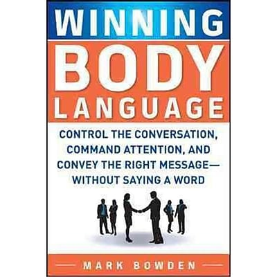 Winning Body Language Mark Bowden Paperback