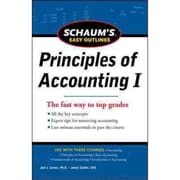 Schaum's Easy Outline of Principles of Accounting Joel Lerner  Paperback