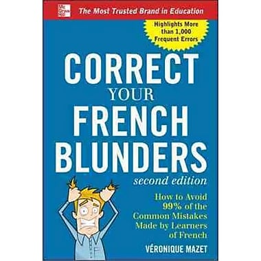 Correct Your French Blunders Vronique Mazet Paperback