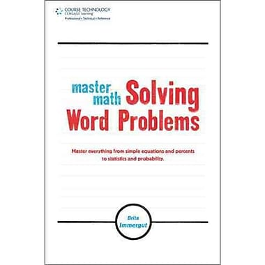 Master Math: Solving Word Problems Brita Immergut Paperback