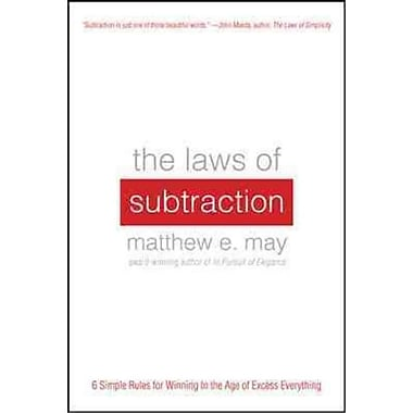 The Laws of Subtraction