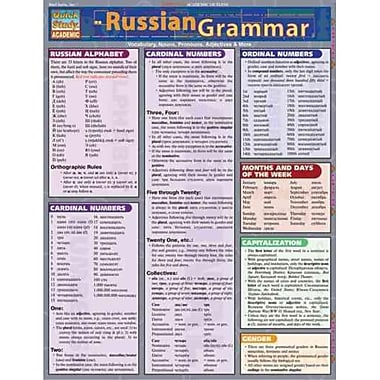 Russian Grammar Inc. BarCharts Pamphlet