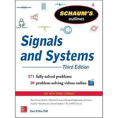 Schaum's Outlines of Signals and Systems Hwei Hsu Paperback