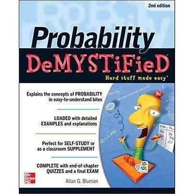 Probability Demystified 2/E Allan Bluman Paperback
