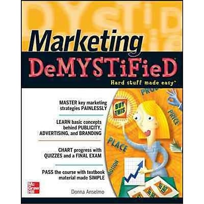 Marketing DeMystified Donna Anselmo Paperback
