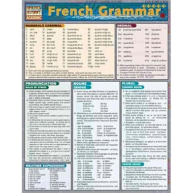 French Grammar Inc. BarCharts Pamphlet