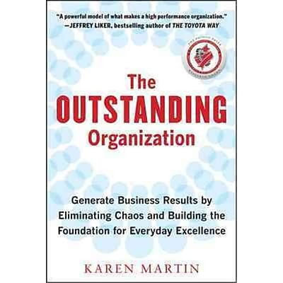 The Outstanding Organization Karen Martin Hardcover