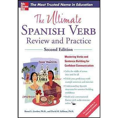 The Ultimate spanish Verb Review and Practice Ronni Gordon, David stillman Paperback