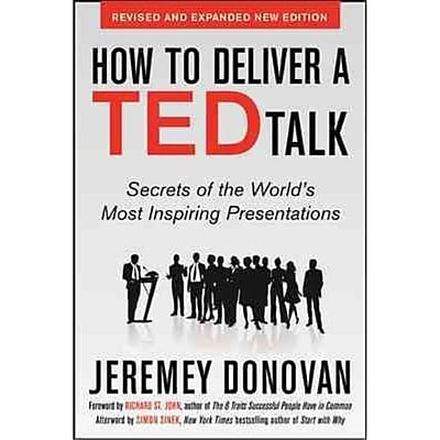 How to Deliver a TED Talk Jeremey Donovan Paperback