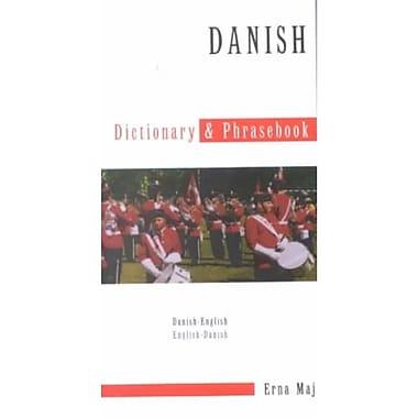 Danish-English Dictionary & Phrasebook (Hippocrene Dictionary & Phrasebooks) Erna Maj Paperback