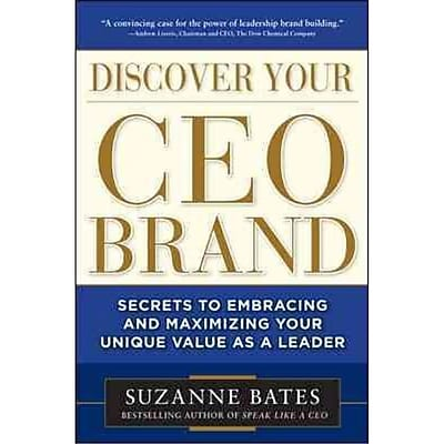 Discover Your Ceo Brand Suzanne Bates Hardcover