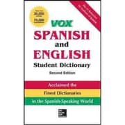 VOX Spanish and English Student Dictionary Vox Hardcover