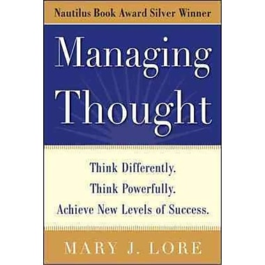 Managing Thought Mary J. Lore Hard Cover