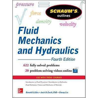 Schaum's Outline of Fluid Mechanics and Hydraulics, 4th Edition (Schaum's Outline Series) Paperback