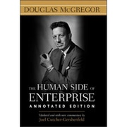 The Human Side of Enterprise Douglas McGregor  Hardcover