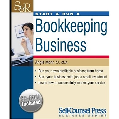 Start & Run A Bookkeeping Business Angie Mohr CA CMA Paperback
