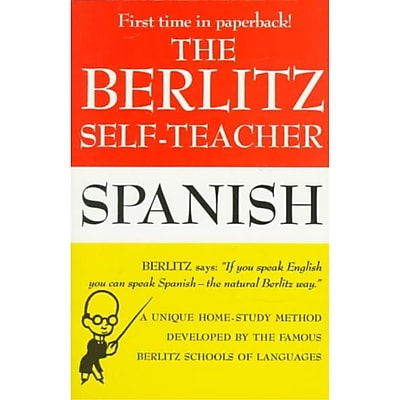 Berlitz Self-Teacher: Spanish Berlitz Editors Paperback