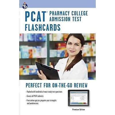 PCAT Pharmacy College Admissions Test Flashcards, Premium Edition PCAT Test Preparation Paperback
